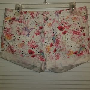 French Connection Shorts - French Connection Floral Shorts
